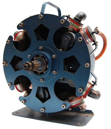 Rotary expansion motor