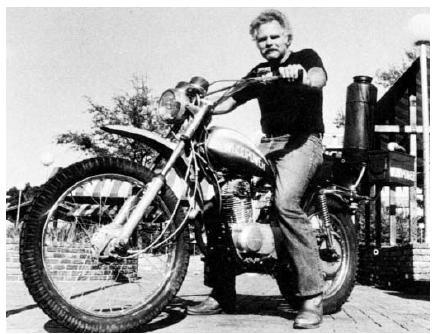Woodgas motorbike